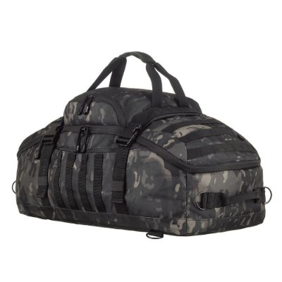 Mochila/ Mala Militar Tática Expedition Camuflado Multicam Black Invictus