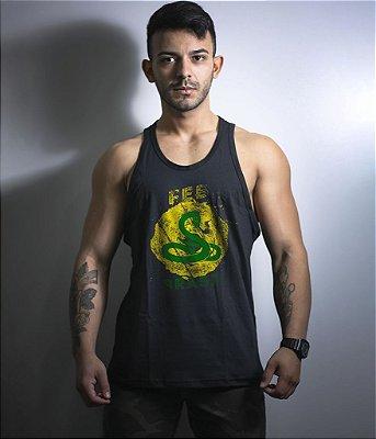 Camiseta Regata Militar FEB Força Expedicionária Brasileira