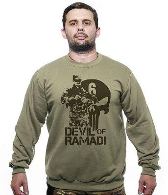 Casaco Básico de Moletom Devil Of Ramadi