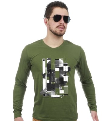 Camiseta Militar Manga Longa Second Soldier