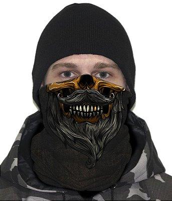 Face Armor Skull Hipster