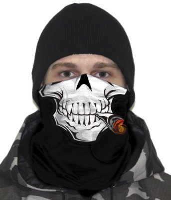 Face Armor Smoker Team Six