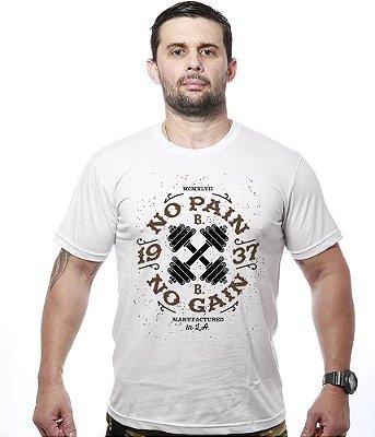 Camiseta Academia Iron No Pain No Gain 3da3bde7ea8