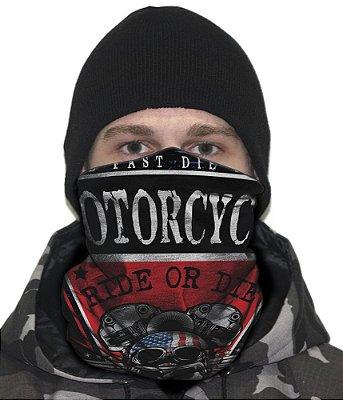 Face Armor Caveira Moto Clube EUA