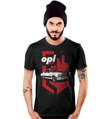 Camiseta Old Car Opala SS