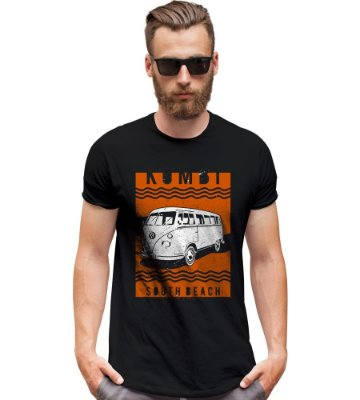 Camiseta Old Car Kombi South Beach