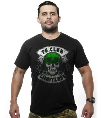 Camiseta Motorcycle T6 Club Limitless