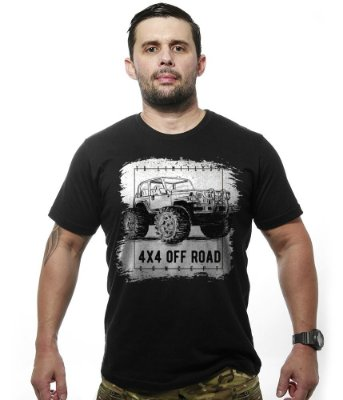 Camiseta Off Road 4x4 Limitless