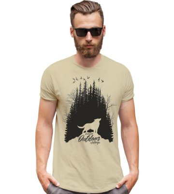 Camiseta Outdoor Wolf Team Six