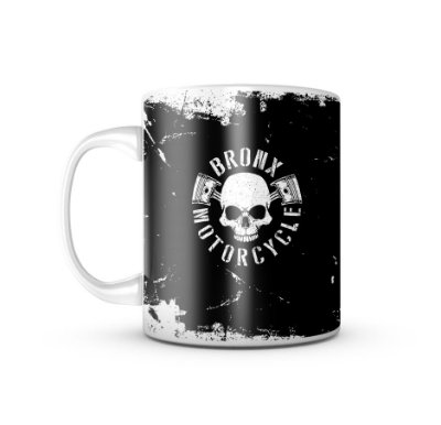 Caneca Bronx Motorcycle T6 - 325ML