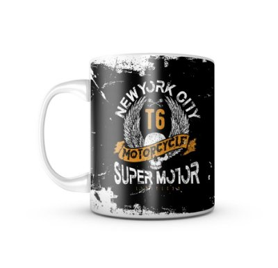 Caneca NY Super Motor T6 Limitless 325ML