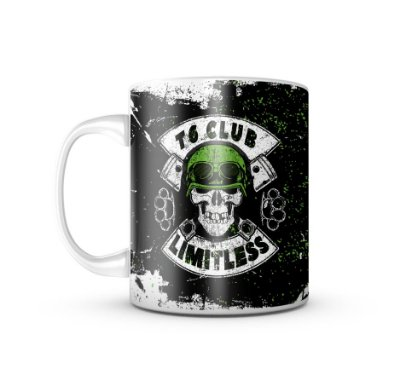 Caneca T6 Motorcycle Club Limitless 325ML