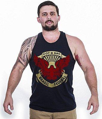 Camiseta Regata Militar COT DPF Temática Team Six