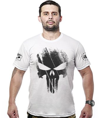 Camiseta Militar Justiceiro Punisher