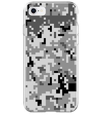 Capa para Celular Militar Camuflado Digital Urban