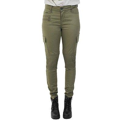 Calça Militar Feminina Treme Terra Civ-Tac Verde Oliva