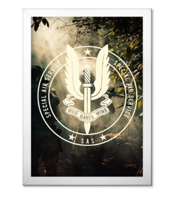 Poster Militar SAS Special Air Service