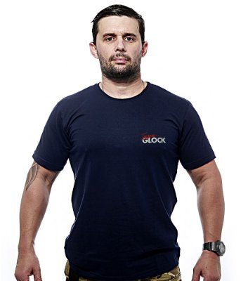 Camiseta Bordada Team GLOCK
