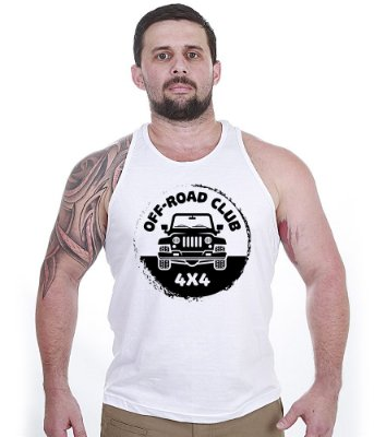 Camiseta Regata Off Road Club 4x4