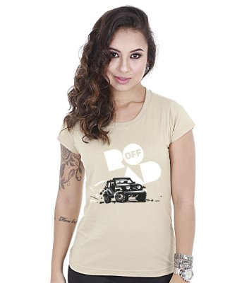 Camiseta Off Road Baby Look Feminina Great Adventure