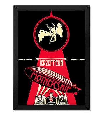 Poster com Moldura Led Zeppeling