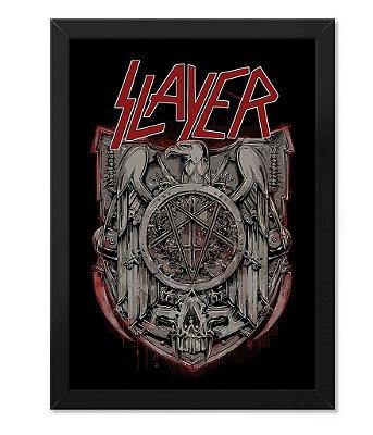 Poster com Moldura Slayer