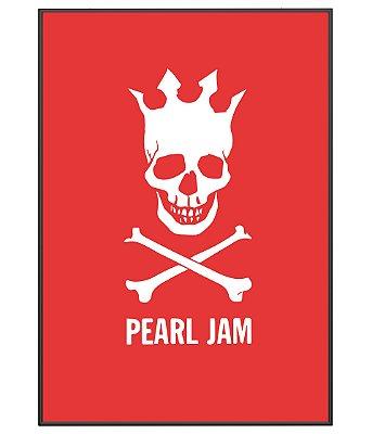 Poster minimalista Pearl Jam