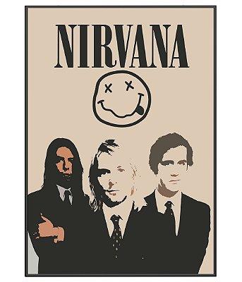 Poster Minimalista Nirvana