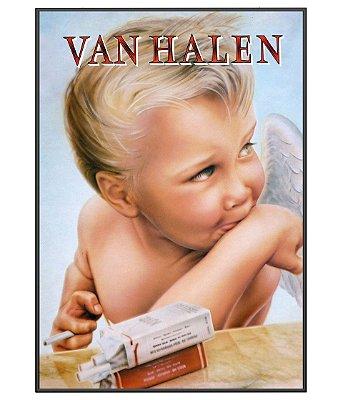 Poster Minimalista Van Halen