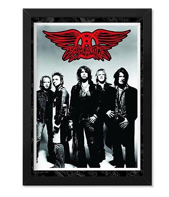 Poster com Moldura Rock Aerosmith