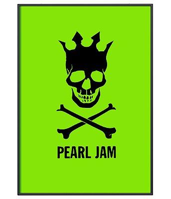 Poster minimalista Pearl Jam Green