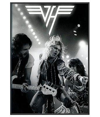 Poster Minimalista Banda Van Halen