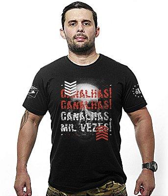Camiseta Militar Canalhas Canalhas Mil Vezes