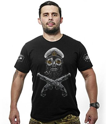 Camiseta Militar Morte aos Tiranos