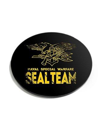 Porta Copos Militar Navy Seals Team Acrílico