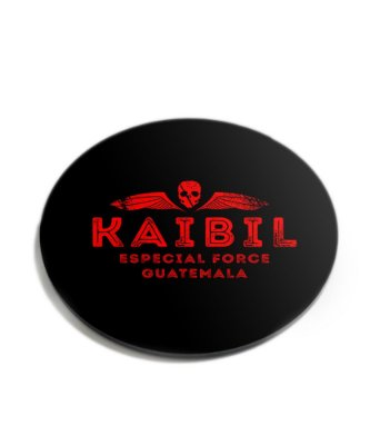 Porta Copos Militar Kaibil Acrílico