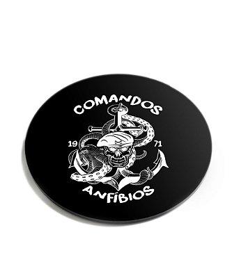 Porta Copos Militar Comandos Anfíbios Acrílico