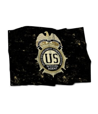 Bandeira DEA Drug Enforcement Administration