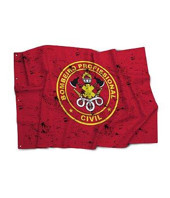Bandeira Bombeiro Profissional Civil