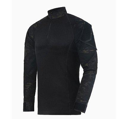 Combat Shirt Operator Multicam Black Invictus