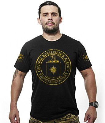 Camiseta Militar Central Intelligence Agency
