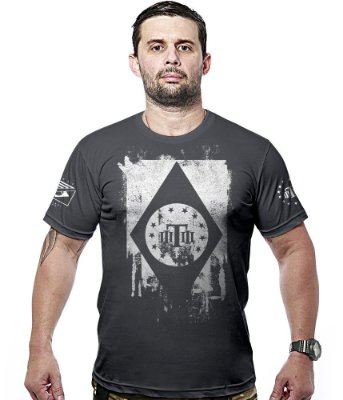 Camiseta Militar Concept Line Team Six Tactical Flag Brasil