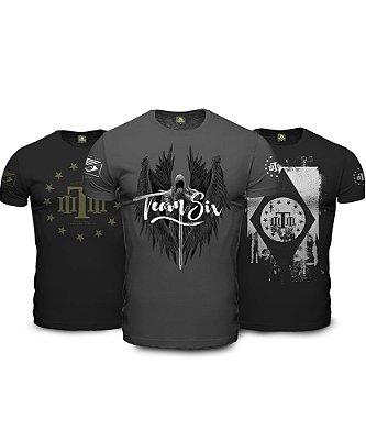 Kit 3 Camisetas Militares Concept Line Arcanjo