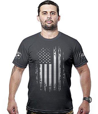 Camiseta Militar EUA Defense Hurricane Line