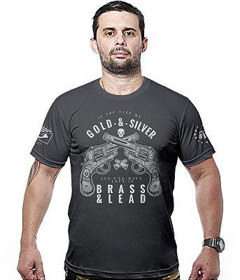 Camiseta Militar Gold & Silver Hurricane Line