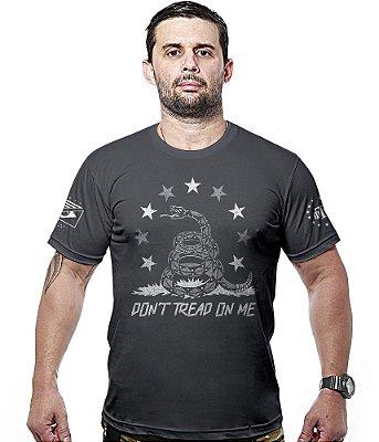 Camiseta Militar Don't Tread On Me Snake Hurricane Line