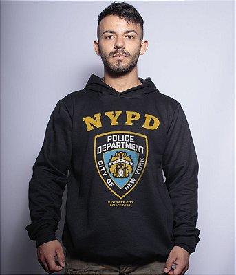 Casaco Militar Com Capuz Police NYPD