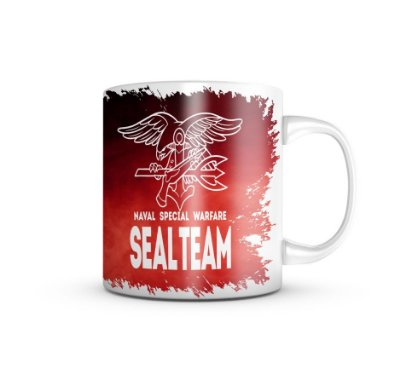 Caneca Naval Specia Warfare Seal Team
