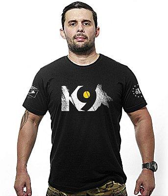 Camiseta K9 Police Patrulha com Cão