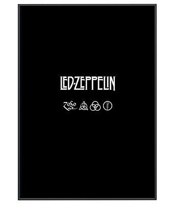 Poster Minimalista Da Banda Led Zeppelin II